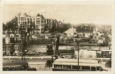 PAYS-BAS HOLLANDE NEDERLAND ROTTERDAM gezicht op de oosterkade timbrée 1933