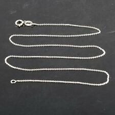 Chain Rolo Necklace 925 Sterling Silver  .925 Italy 16 inches