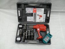 Ridgid Propress 320e Hydraulic Battery Operated Crimper & 6 JAWS