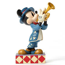 "6"" Bugle Boy Mickey Mouse Figurine Disney Disneyland Statue Figure"