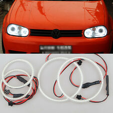 For VW Golf Mk4 1997-2003 4pcs xenon WHITE  led SMD Angel Eyes Halo Rings lights
