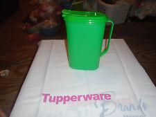 Tupperware Brand New 2L Slim Pitcher Green