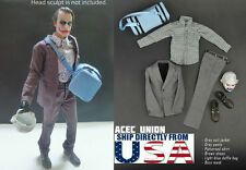 1/6 Joker Heath Ledger Outfits Mask Set For DX01 DX11 Hot Toys - U.S.A. SELLER
