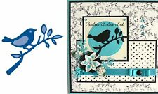 "Marianne Designs Creatables Dies LR0137 ~ Bird With Small Branch, 2.75""X1.5"