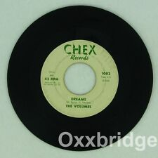 THE VOLUMES I Love You/Dreams CHEX Original 1962 Pressing NORTHERN SOUL Doo Wop