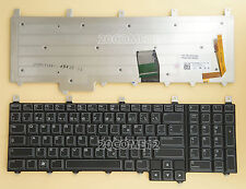 NEW for DELL Alienware M17X R1 M17X R2 M17X R3 Keyboard Backlit Canadian Clavier