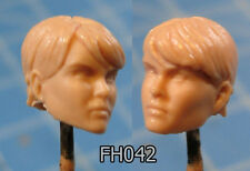 "FH042 Custom Cast Sculpt part Female head cast for use with 3.75"" action figures"