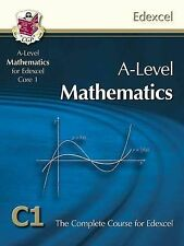 AS/A Level Maths for Edexcel C1 - Core 1: Student (BOOK & CD-ROM) by CGP NEW