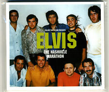 Elvis Presley: The Nashville Marathon - Mint Sealed 2002 Denmark FTD digipak CD!
