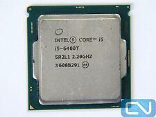 Intel Core i5-6400T (#291-2909) 2.2GHz (2.8 Turbo) 6MB 8GT/s SR2L1 LGA 1151 CPU
