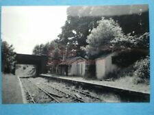 PHOTO  CHARLTON KINGS RAILWAY STATION  LOOKING EAST 6/64  MIDLAND AND SOUTH WEST