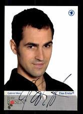 Gabriel Merz Rote Rosen Autogrammkarte Original Signiert # BC 85833