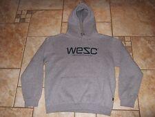 WESC Hoodie Shirt Pullover Sweatshirt Heather Grey Hoodie Medium Sold Out