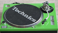 Technics face plate For SL1200/1210MK2 Turntable, Green