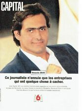 PUBLICITE ADVERTISING 126  1995   M6  Tv  Emmanuel Chain  ds Capital