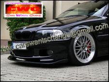 BMW  3  E46, M - Sport , M - TECH ,  FRONT BUMPER SPOILER  /  VALANCE / SKIRT