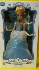 "Disney Store Cinderella Doll 17"" Limited Edition To  5000 NEW IN BOX / RARE"