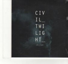 (FT972) Civil Twilight, Fire Escape - 2013 DJ CD