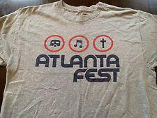 ATLANTA FEST Christian Music Band Tour T-Shirt Casting Crowns Disciple (L)