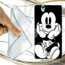 CUSTODIA COVER CASE TPU MICKEY PER SONY XPERIA C4