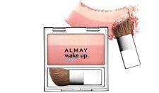 Almay Wake Up Blush + Highlighter -020 Rose- New
