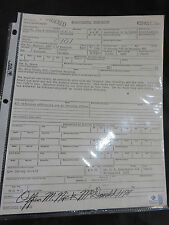 John F. Kennedy Homicide Report Signed/Autographed by Nick McDonald Global COA