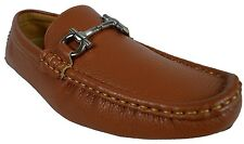 MEN GIOVANNI DRESS SHOES LOAFER CASUAL ITALIAN STYLE SLIP-ON MEDIUM (D,M) SOLID