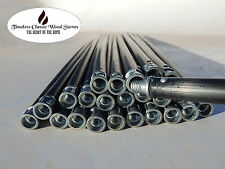 1M Extension Rods handle for flue cleaning brush- combustion wood stove heater