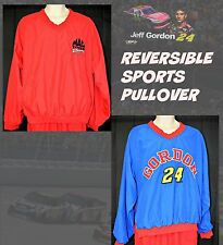 NASCAR JEFF GORDON JACKET Extra Large Pullover REVERSIBLE