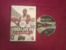 NINTENDO Wii NBA LIVE 09 ALL-PLAY DISC ONLY PAL UK