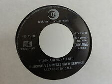 QUICKSILVER MESSENGER SERVICE Fresh air / mojo SIR 20 033 ITALIE Psyche