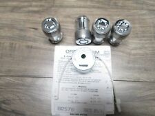 DODGE RAM 2500 1500 FACTORY 14MM x 1.5  durango Grand Cherokee WHEEL LOCKS LUGS
