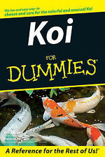 Koi For Dummies by R. D. Bartlett, Patricia P. Bartlett (Paperback, 2007)