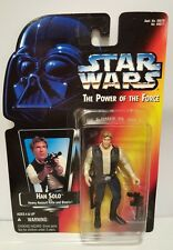 Star Wars: Han Solo {Orange/Red Card/.00} Power of the Force Action Figure MOC