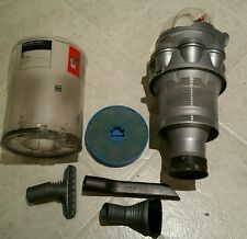 genuine DYSON DC 14 CYCLONE BIN SILVER with filter + 3 Dyson tools