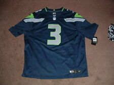 RUSSELL WILSON #3 Seattle Seahawks BLUE Limited Football Jersey XX-LARGE NWT