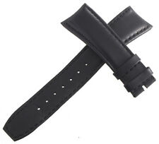 Raymond Weil Mens 22x19mm Black Leather Watch Band Strap