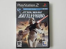 SONY PLAYSTATION 2 PS2  ~~ STAR WARS BATTLEFRONT  ~  PAL