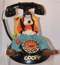 VINTAGE TELEMANIA DISNEY GOOFY ANIMATED AND TALKING TELEPHONE