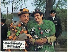 BERNARD BLIER PREVOST ELLE CAUSE PLUS ELLE FLINGUE 1972 MICHEL AUDIARD PHOTO #6