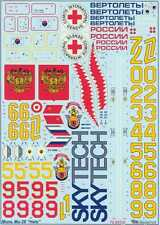 Begemot Decals 1/72 MIL-26 HALO FAMILY Russian Heavy Transport Helicopter