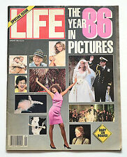 "Life Magazine Jan.1987 ""The Year in Pictures 1986"" Letterman/Kasparov/Chernobyl"