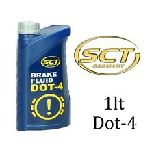 DOT 4 Quality Synthetic Brake & Clutch Fluid 1lt 1000ml SCT Germany
