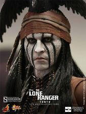 HOT TOYS THE LONE RANGER TONTO Johnny Depp 1:6 FIGURE ~Sealed in Brown Box~