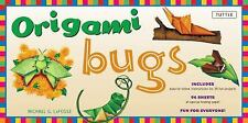 Origami Bugs Kit: [Origami Kit with 2 Books, 96 Papers, 20 Projects]