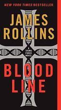 Bloodline (Sigma Force) Rollins, James Mass Market Paperback