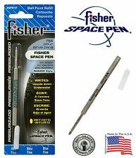 One Fisher SPR Series Blue Ink / Fine Point Refill #SPR1F