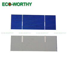 20pcs 78x26mm High Power Poly Solar Cells 0.34W/Pc for DIY Solar Charger Gift
