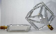 KCNC Stainless Steel BMX/MTB Platform Pedals Pair, Silver--  ON SALE!