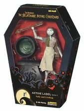 "Disney Tim Burton NBX Nightmare Xmas Movie SALLY & POT 9"" Collectors doll figure"